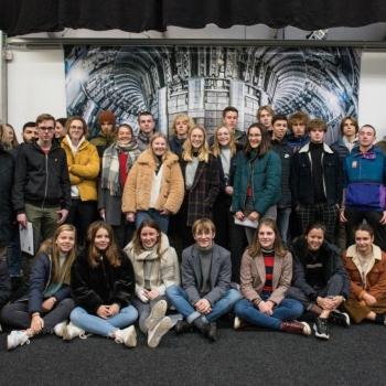 Fusieshow Universiteit Antwerpen en Isotopolis Dessel