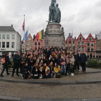 Derdes ontdekken middeleeuwse handelsmetropool Brugge